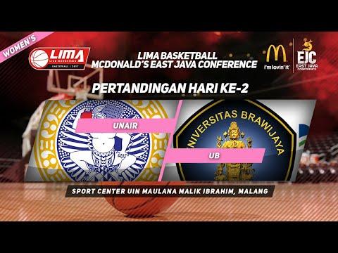 UNAIR VS UB di LIMA Basketball McDonald's East Java Conference 2017 (Women's)