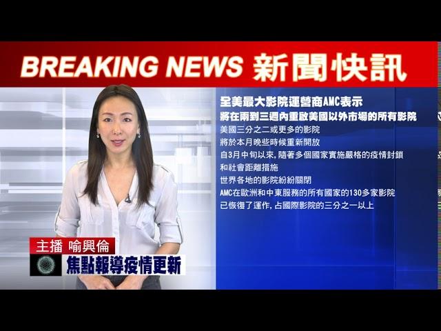 新聞快訊 - 新冠疫情及重點新聞即時更新 0807 2pm   美國 加州 紐約