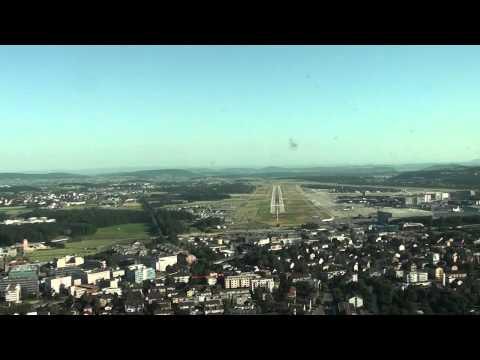 PilotCAM view into Zurich Rwy 34