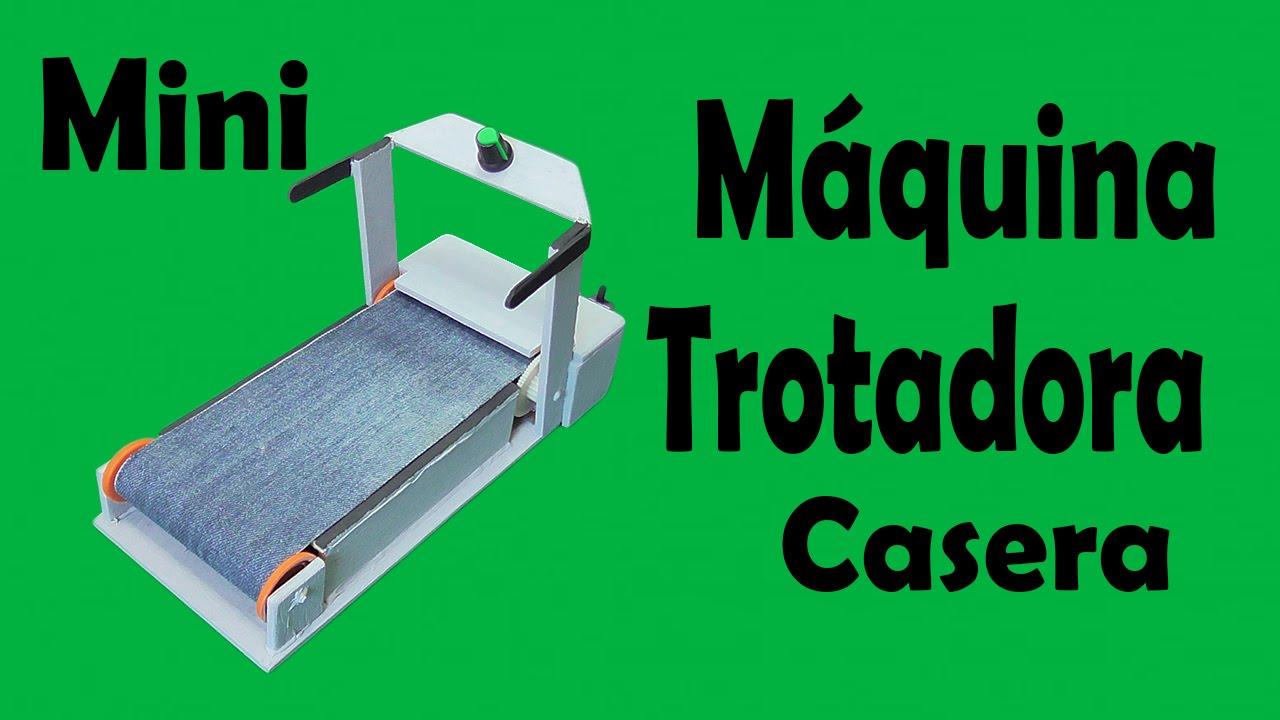 Proyectos - Máquina Trotadora Casera (muy fácil de hacer) - YouTube