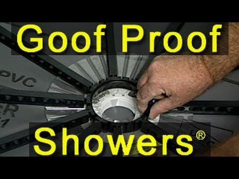 Goof Proof Shower Installation - 01