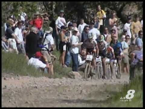 Sportissimo: gara uomini 1^ prova Coppa del Mondo cross country California Napa Valley 2000