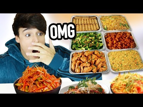 ALL YOU CAN EAT chinese buffet *MUKBANG*