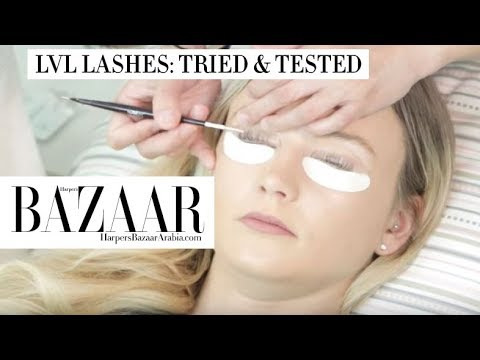 3ab1c9eb375 LVL Lashes Tried & Tested - Bazaar Beauty | Episode 7 - YouTube
