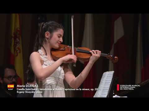 CMIM 2019 - Première épreuve/First Round - Maria Dueñas