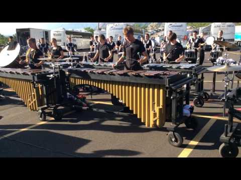 Columbians 2017  Percussion Lot Ogden, UT