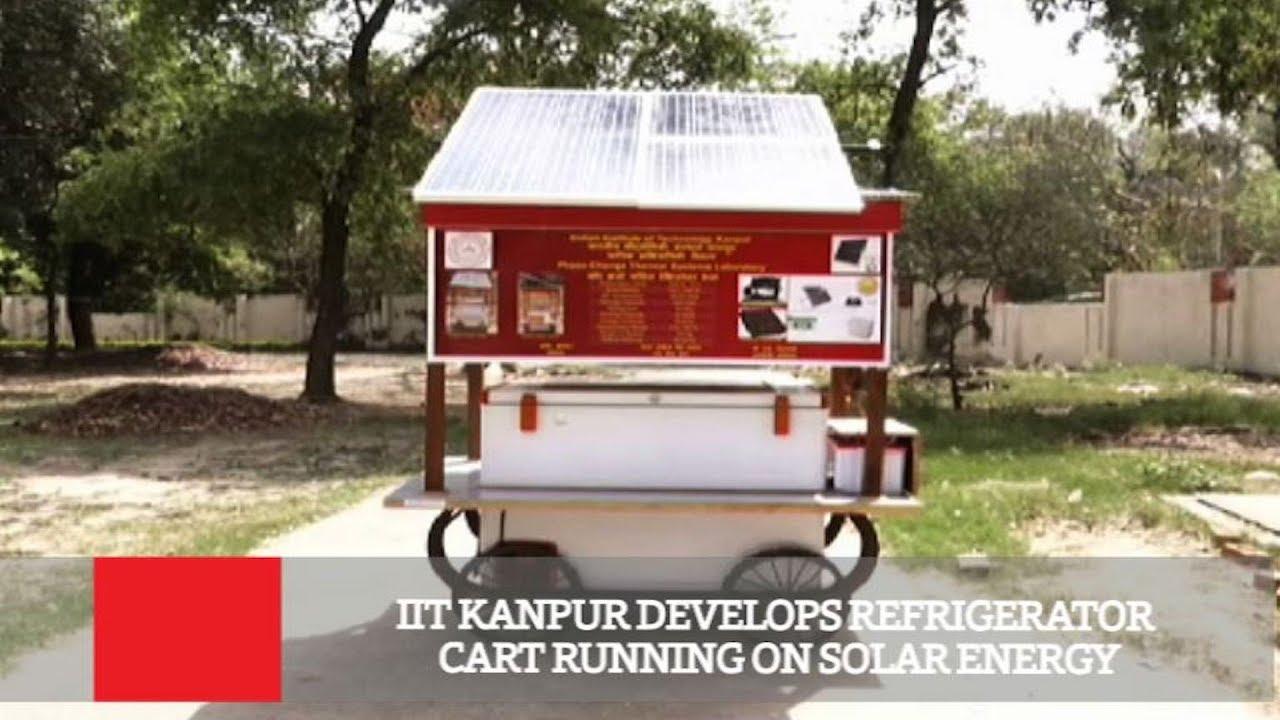 Solar Powered Autonomous Refrigerated Vending Cart