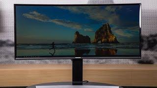 Samsung S34E790C - 34 Zoll Curved  Monitor mit UWQHD-Auflösung vorgestellt
