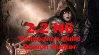 diablo 3 hardcore 2 2 demon hunter n6 vengeance build grift 45 solo ps4 gameplay