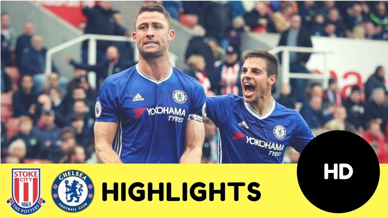 Download Stoke City vs Chelsea 1-2 - All Goals & Highlights - Premier League 18/03/2017 HD