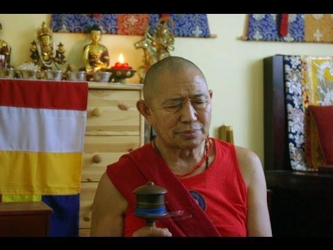 H.E. Garchen Rinpoche - Shamatha and Vipassana meditation commentary - Day 1