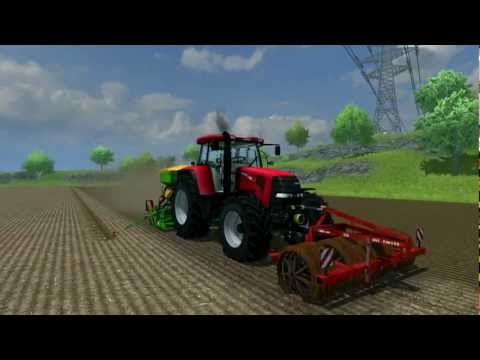 [FS13 WIP] BJR-Modding: Case IH CVX 175 drilling