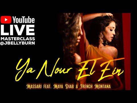 """Ya Nour El Ein"" - Massari | LIVE Pop Fusion Bellydance Masterclass With Janelle Issis @JBELLYBURN"
