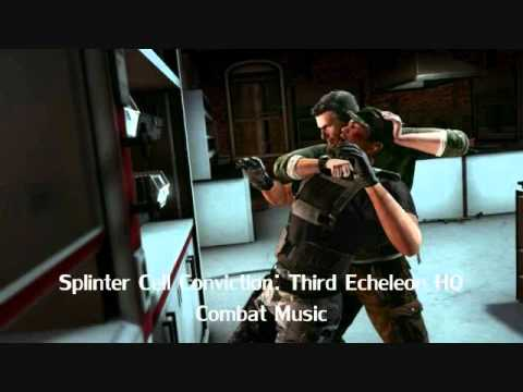 Splinter Cell Conviction Soundtrack-Third Echelon HQ Combat