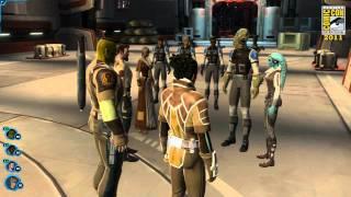 SWTOR: видео, показанное на Comic Con 2011