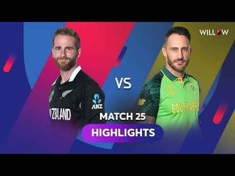 | South Africa vs Newzeland highlights |Cricket Worldcup 2019| Sa vs nzl full match highlights