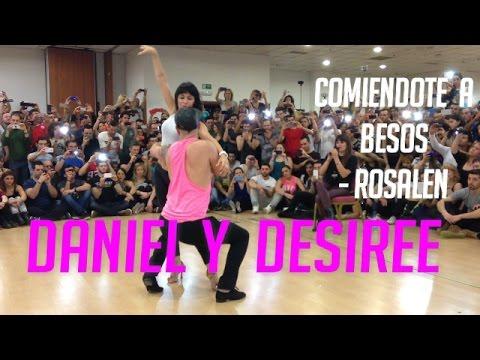 Daniel y Desiree (Bachata) Comiendote a Besos - Bachatea World Congress