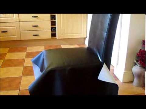 How I fix oak leather chair