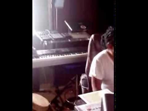 Vivaldo  aka Tesfa Zion at Rory Stone Love studio