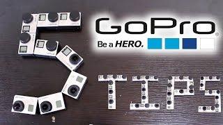 5 GOPRO TIPS