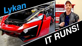 First start! | Lykan Hypersport build #7 from Fast and the Furious Live Stunt Car
