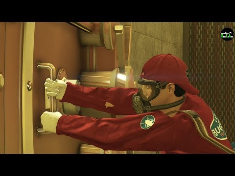GTA 5 - Beating The Casino Heist (The Big Con) $2,200,000