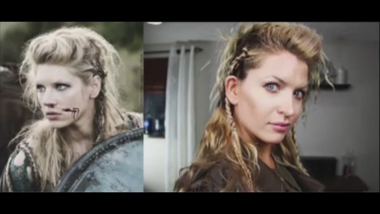 Turbo How to do Lagertha's hair in The Vikings - YouTube QQ02