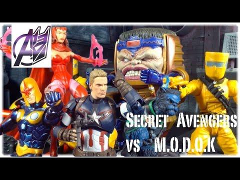 The Avengers [Stop Motion Film] Secret Avengers vs MODOK