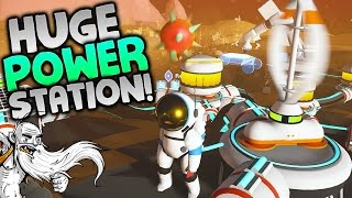 "Astroneer Gameplay - ""HUGE WIND TURBINE POWER STATION!!!"" - Walkthrough Let's Play"