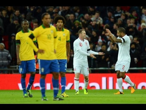England vs Brazil 2-1 Official Goals and Highlights, Wembley 06.02.13 | FATV