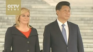 Croatian president on state visit to China