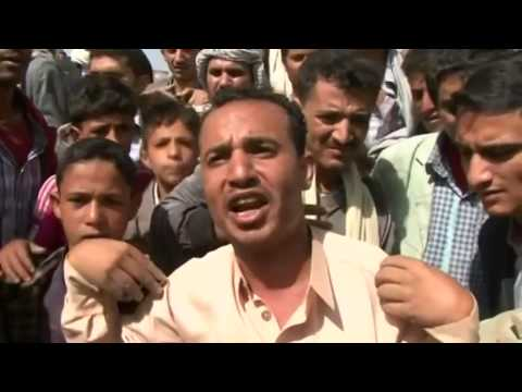 Nine dead in Sanaa market bombing     00:51