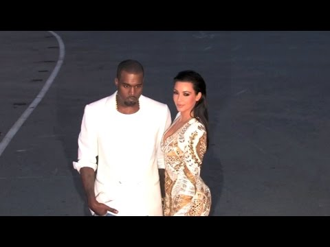 Kim Kardashian and Kanye West's very public PDA in Cannes