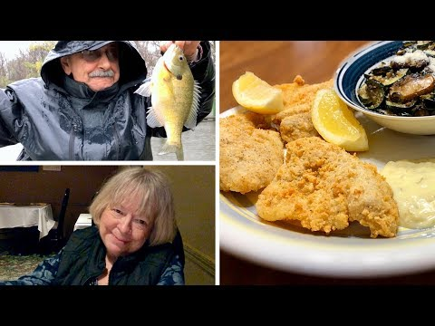 Bluegill Fishin' Is Our Mission (for A Low-carb Fish Fry We're Wishin')