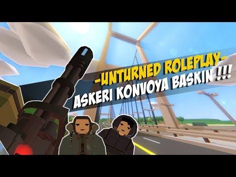 ASKERİ KONVOYA BASKIN ! (FURKAN KAÇIRILDI) ! UNTURNED ROLEPLAY #58 thumbnail