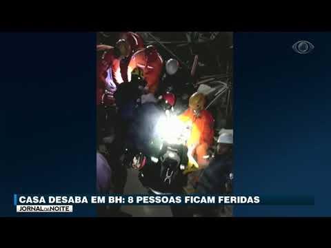 Casa Desaba E Deixa Oito Feridos Em Minas Gerais
