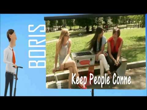 boris solar bench