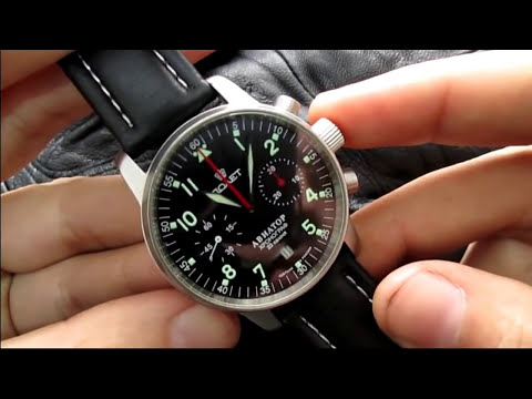 Poljot aviator i 3133 chronograph the best affordable mechanical chronograph youtube for Foljot watches