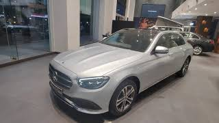 2021 Mercedes Benz E class Face lift | New Mercedes-Benz E class walk around | India