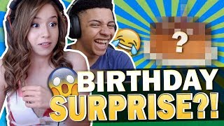 BIRTHDAY SURPRISE?! I CAN'T BELIEVE HE DID THIS! Fortnite ft. TSM MYTH!