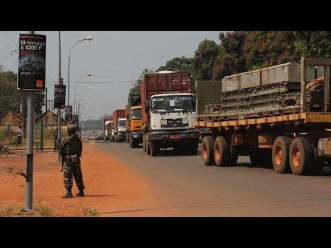 WFP in C.Africa: Securing supply route key to operation