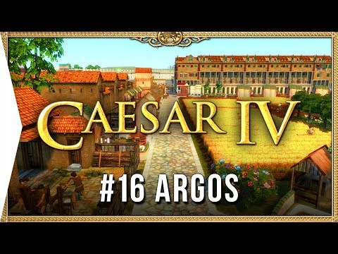 Caesar IV ► Mission 16 Argos - Classic City-building Nostalgia [HD Campaign Gameplay]