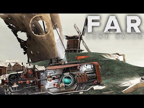 видео: БАРАБЛЮДЫ ► FAR: Lone Sails #2