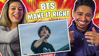 BTS 'Make It Right (ft. Lauv)' Official MV Chaotic Couples Reaction!