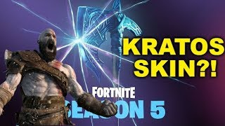 Fortnite: Bones Location & Possible God of War Skin!? (Season 5)
