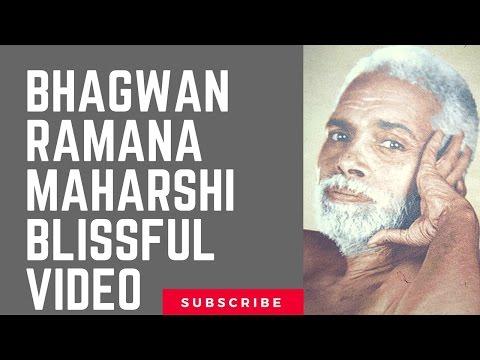 Bhagwan Ramana Maharshi Blissful Video
