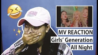 Download Video Girls' Generation (SNSD) - All Night (Clean Ver.) MV Reaction (indonesia) MP3 3GP MP4