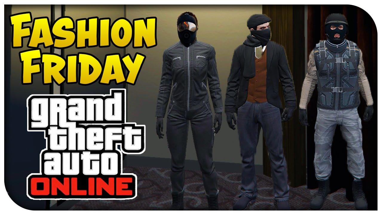 Gta V Online Fashion Friday