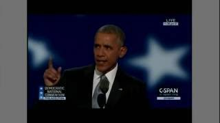 Obama tells America: You picked me up! 2016 07 27