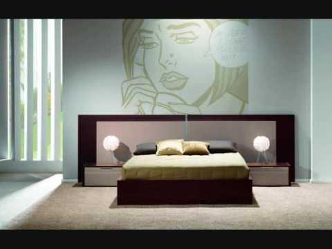 dormitorios de diseo modernos mobles salvany  YouTube